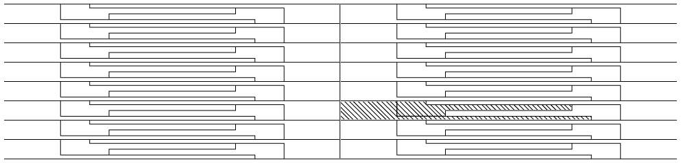 pressure sensor pattern layout