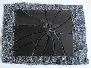 7 stitch to fabric